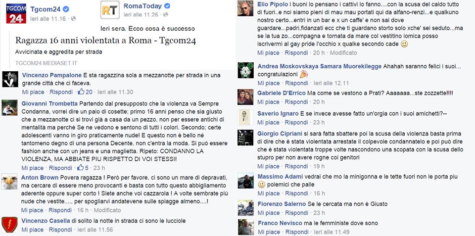 stupro a roma