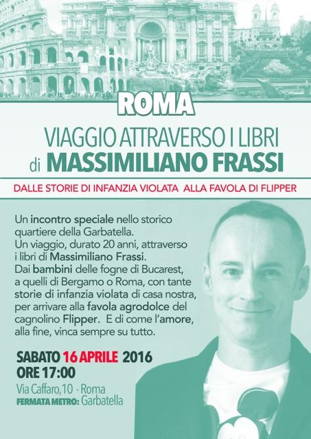 Osso di menta - presentazione a Roma Massimiliano Frassi