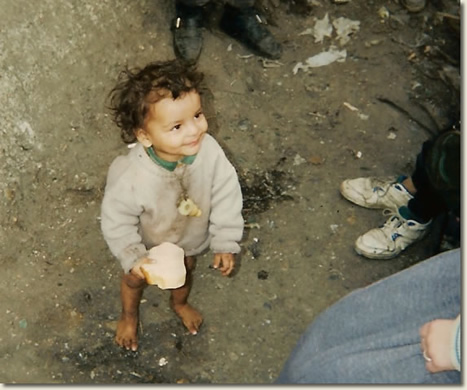 bambini di strada romania